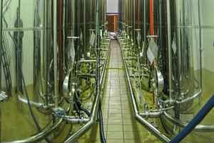 Olivenolie stål tanke