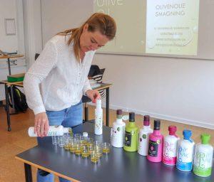 olivenolie smagning