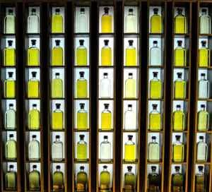olivenolie i flasker